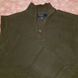 Men's Ralph Lauren 1/2 zip sweater, size M